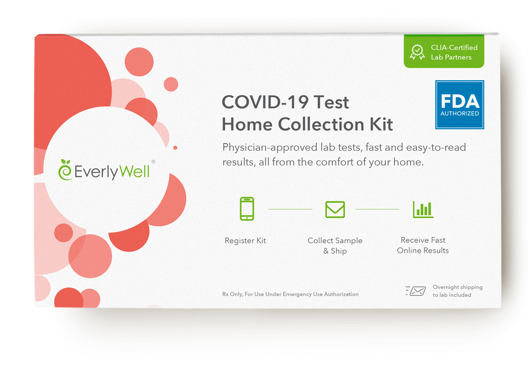 At-home coronavirus test collection kit