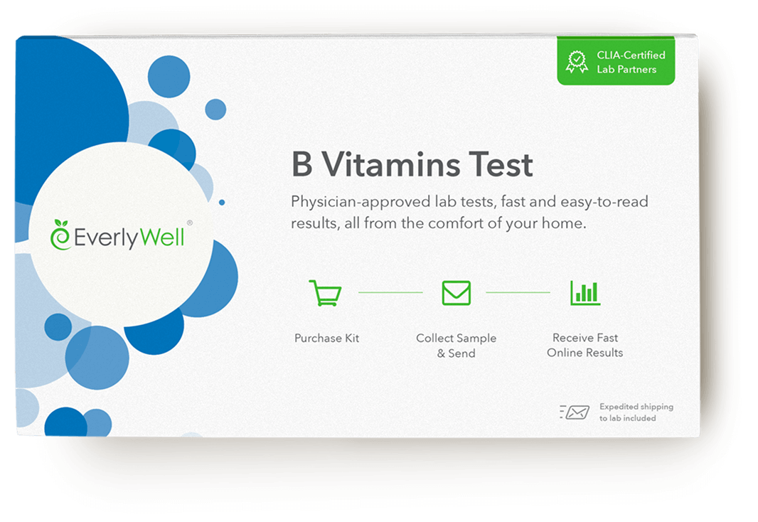 At-home B Vitamins Test
