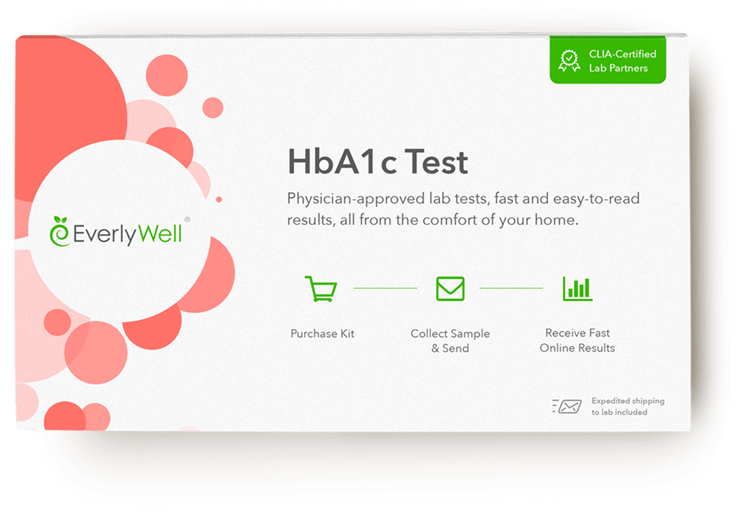 At-home HbA1c Test